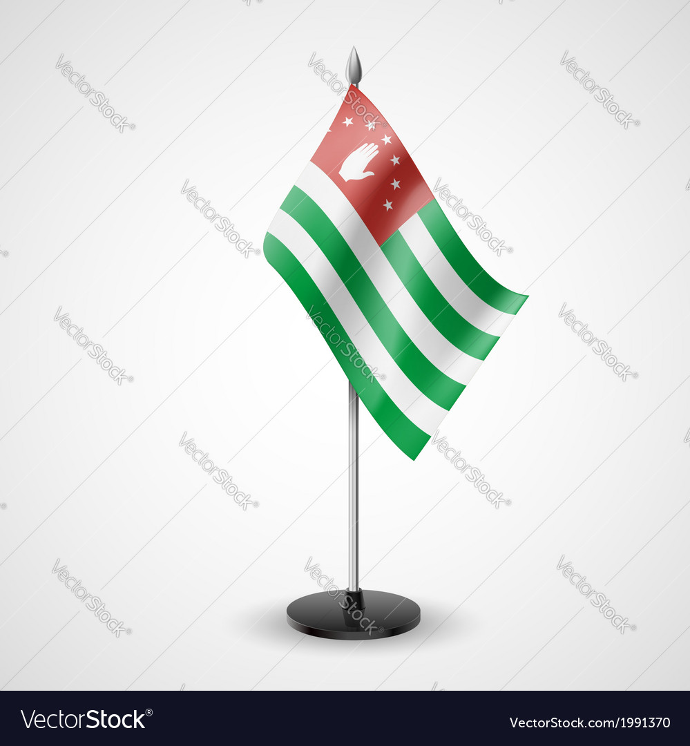 Table flag of abkhazia vector | Price: 1 Credit (USD $1)