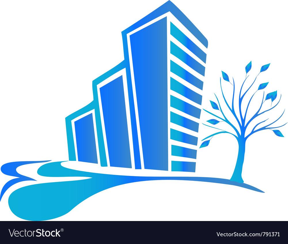 Building logo vector | Price: 1 Credit (USD $1)