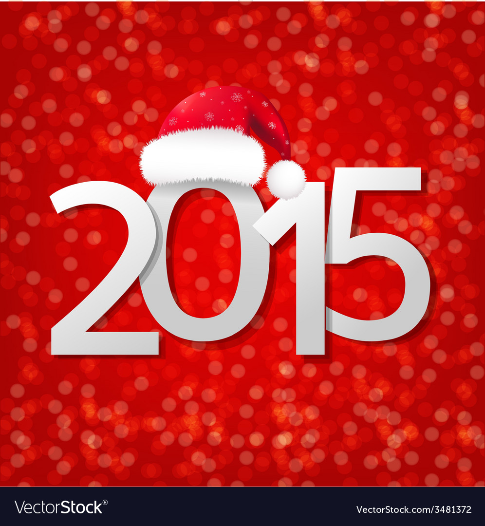 Blurred new year card vector | Price: 1 Credit (USD $1)