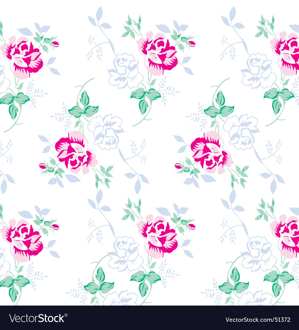Flower pattern for textile design vector | Price: 1 Credit (USD $1)