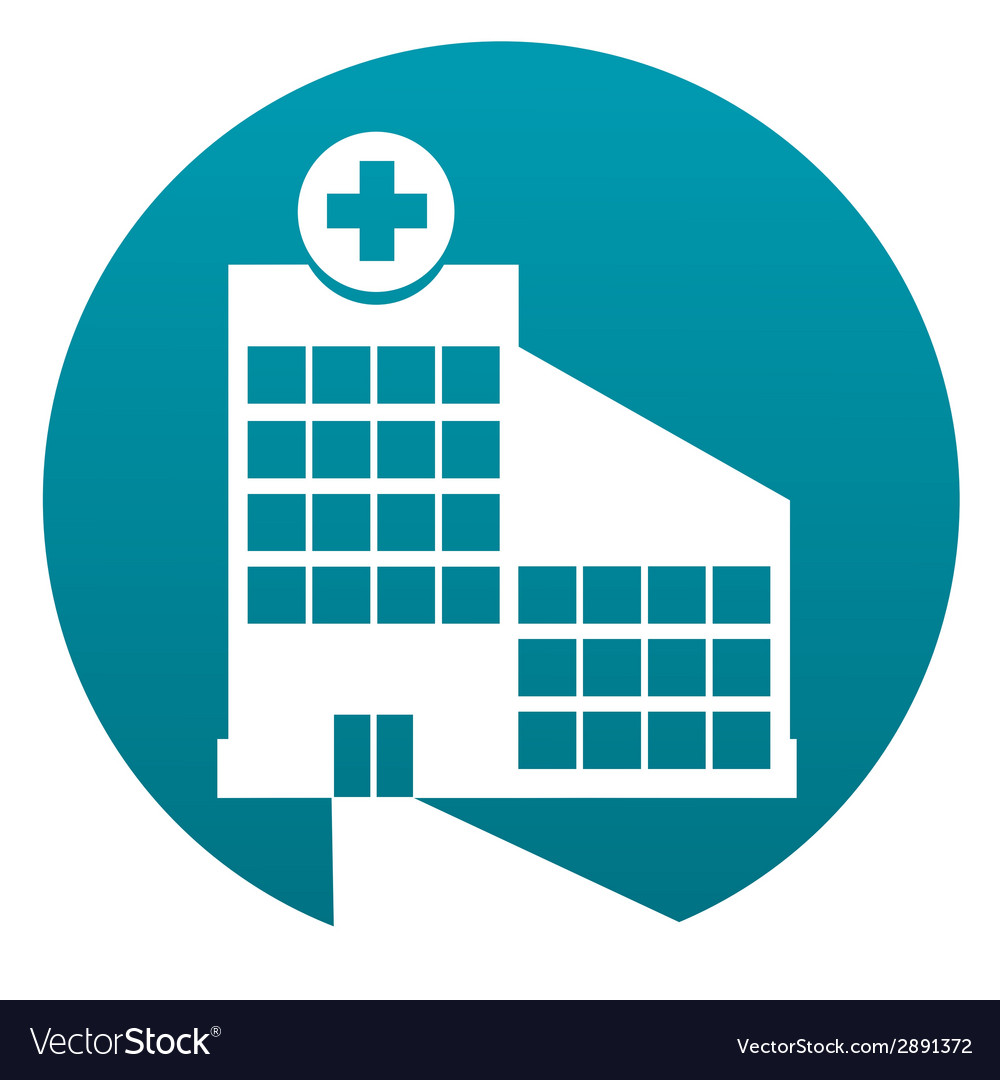 Hospital sign vector | Price: 1 Credit (USD $1)
