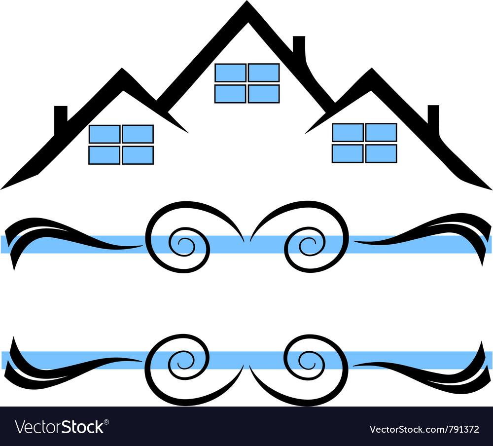 House logo vector | Price: 1 Credit (USD $1)
