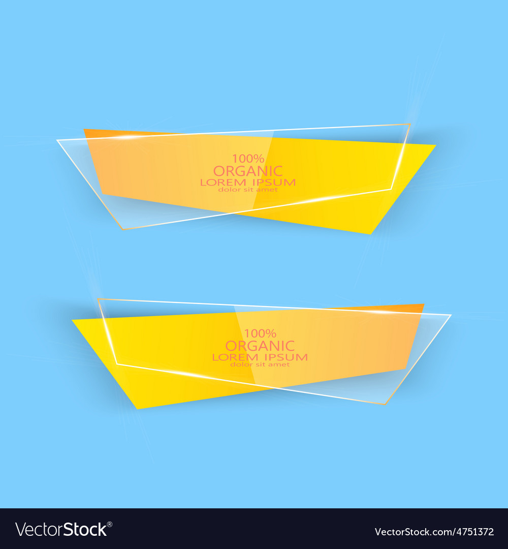 Modern colorful set of banners for your vector | Price: 1 Credit (USD $1)