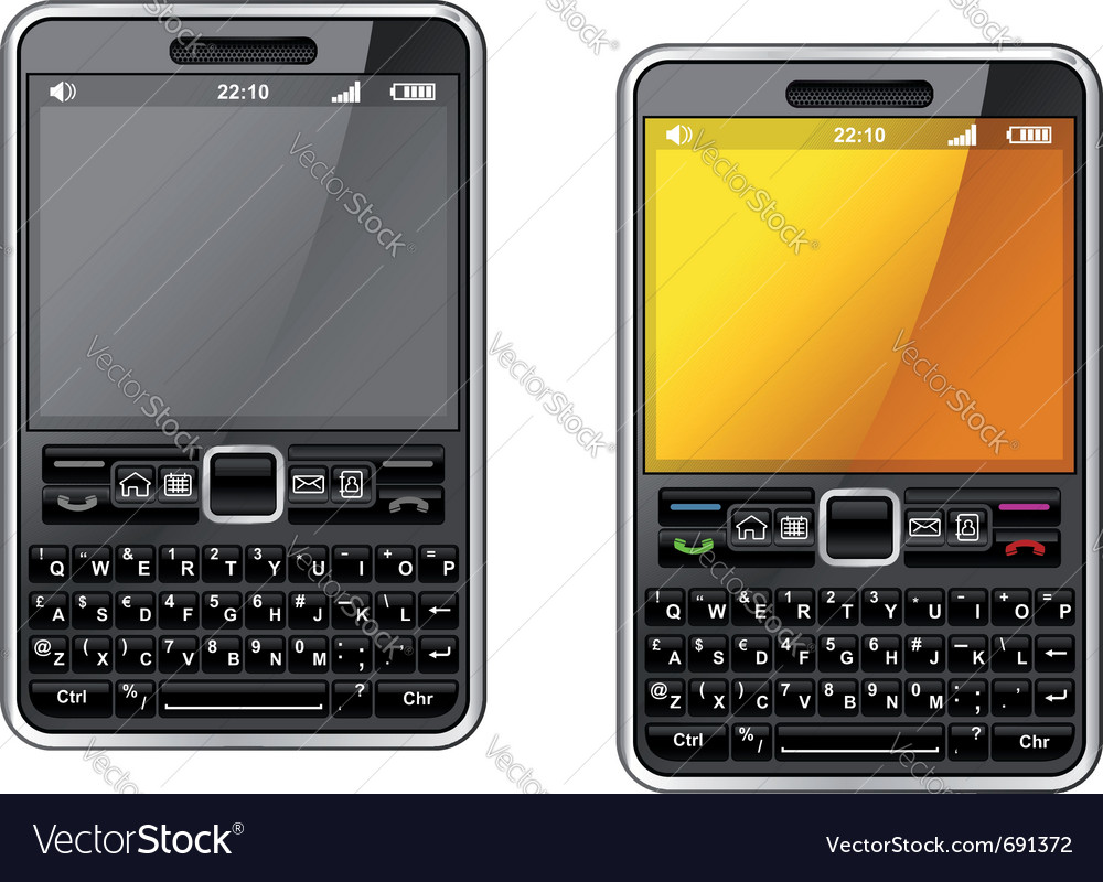 Modern smartphone vector | Price: 3 Credit (USD $3)