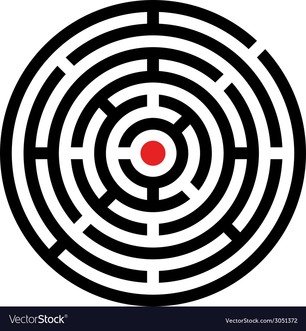 Rounded maze vector   Price: 1 Credit (USD $1)