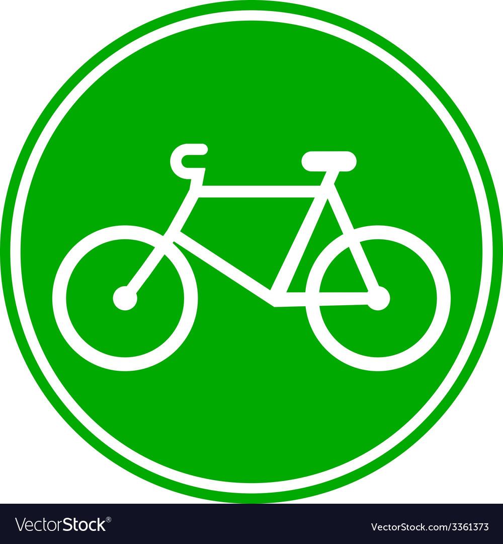 Bike button vector | Price: 1 Credit (USD $1)