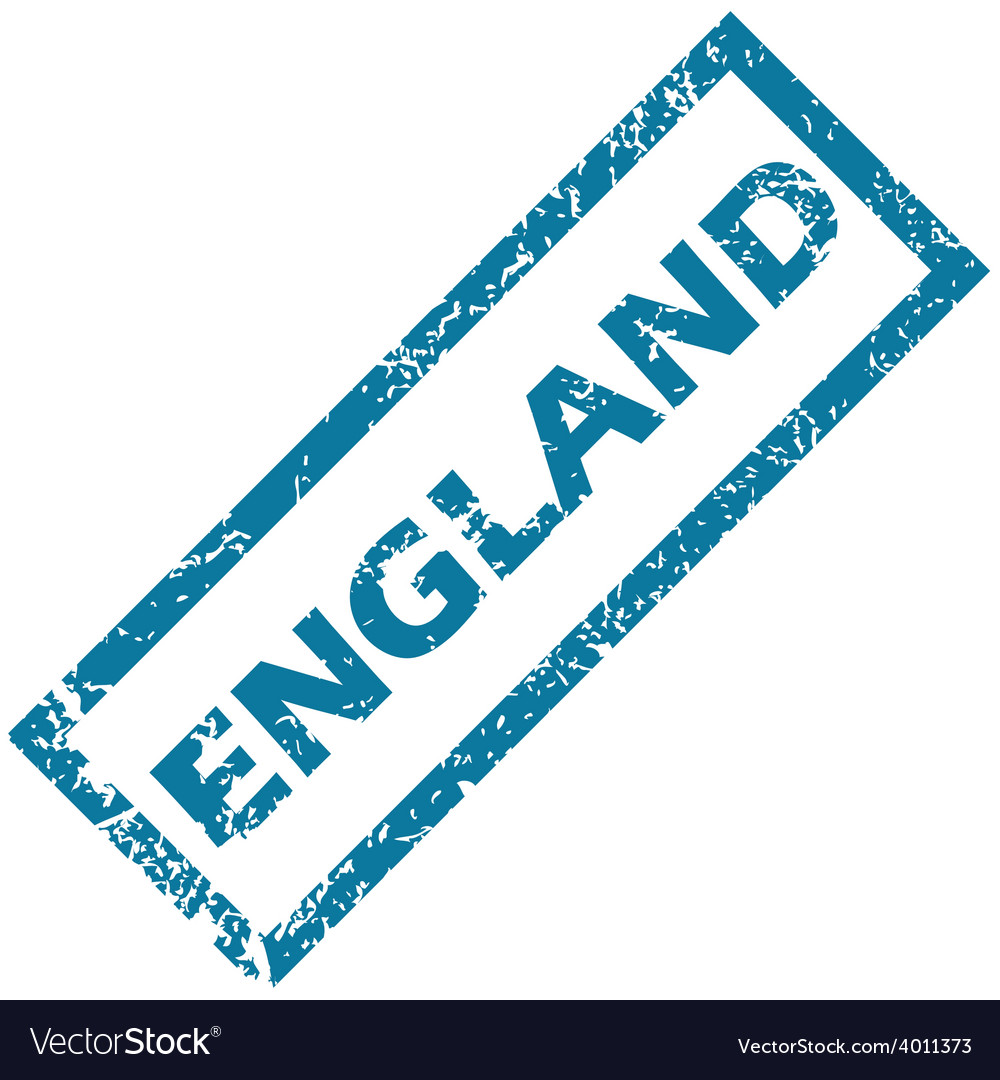 England rubber stamp vector | Price: 1 Credit (USD $1)