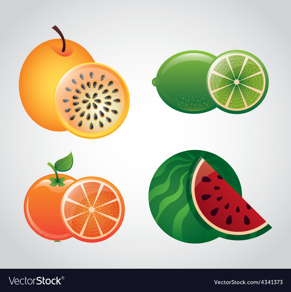 Fruit fresh vector | Price: 1 Credit (USD $1)