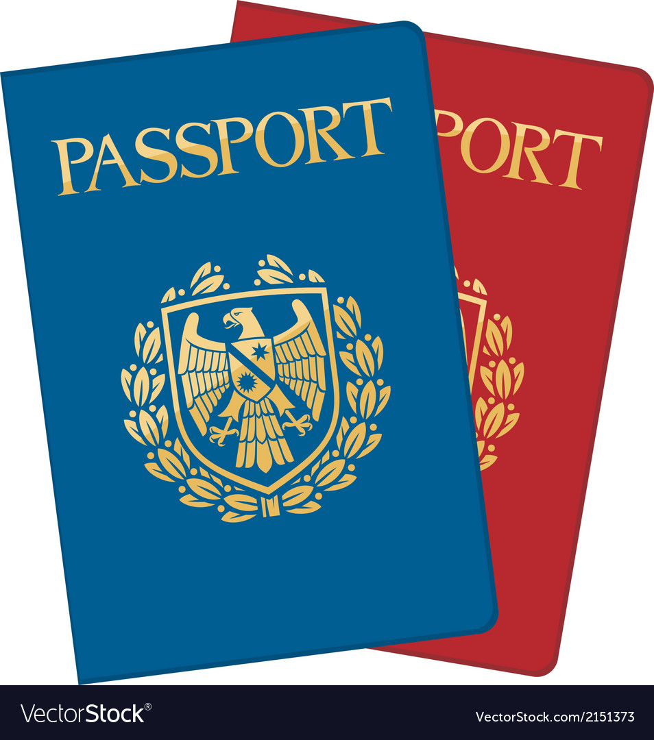 Passports vector | Price: 1 Credit (USD $1)