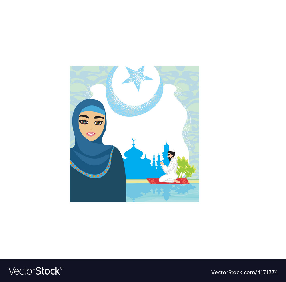 Abstract religious background - muslim vector   Price: 1 Credit (USD $1)
