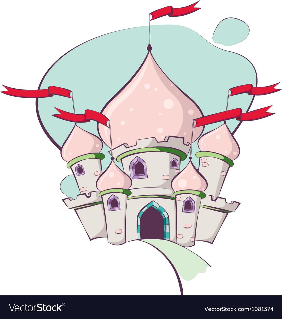 Fairy tale castle vector | Price: 1 Credit (USD $1)