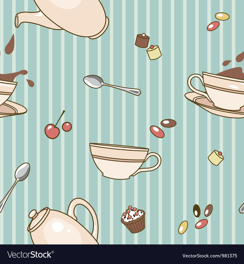 Cacao pattern vector | Price: 1 Credit (USD $1)
