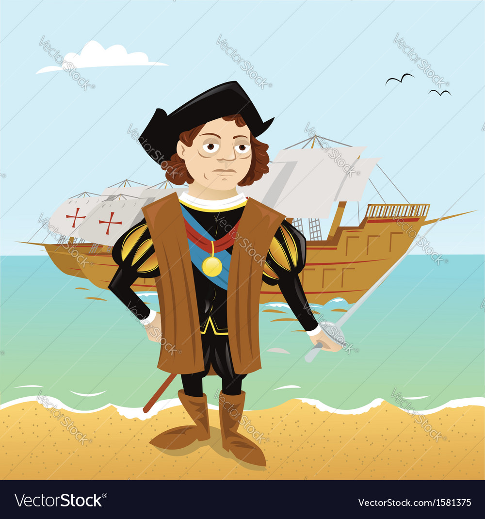 Christopher columbus vector | Price: 1 Credit (USD $1)