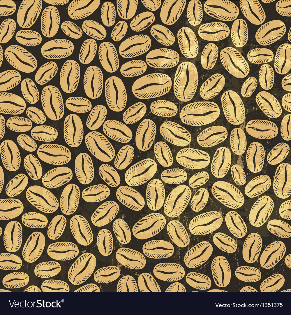 Coffee background seamless vector | Price: 1 Credit (USD $1)