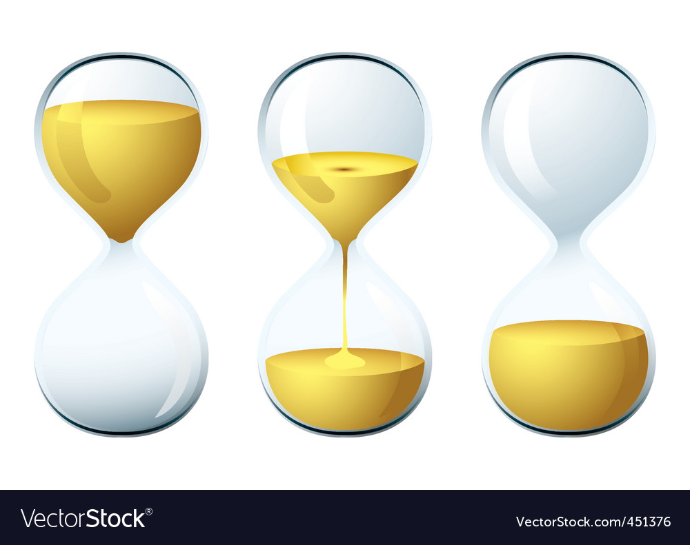 Egg timer vector | Price: 1 Credit (USD $1)