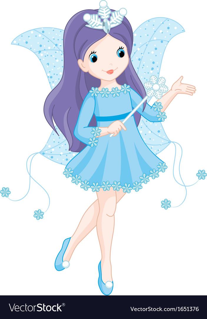 Fairy winter vector | Price: 1 Credit (USD $1)