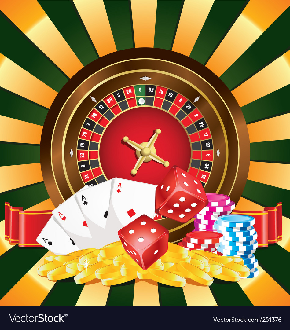 Gambling vector | Price: 3 Credit (USD $3)