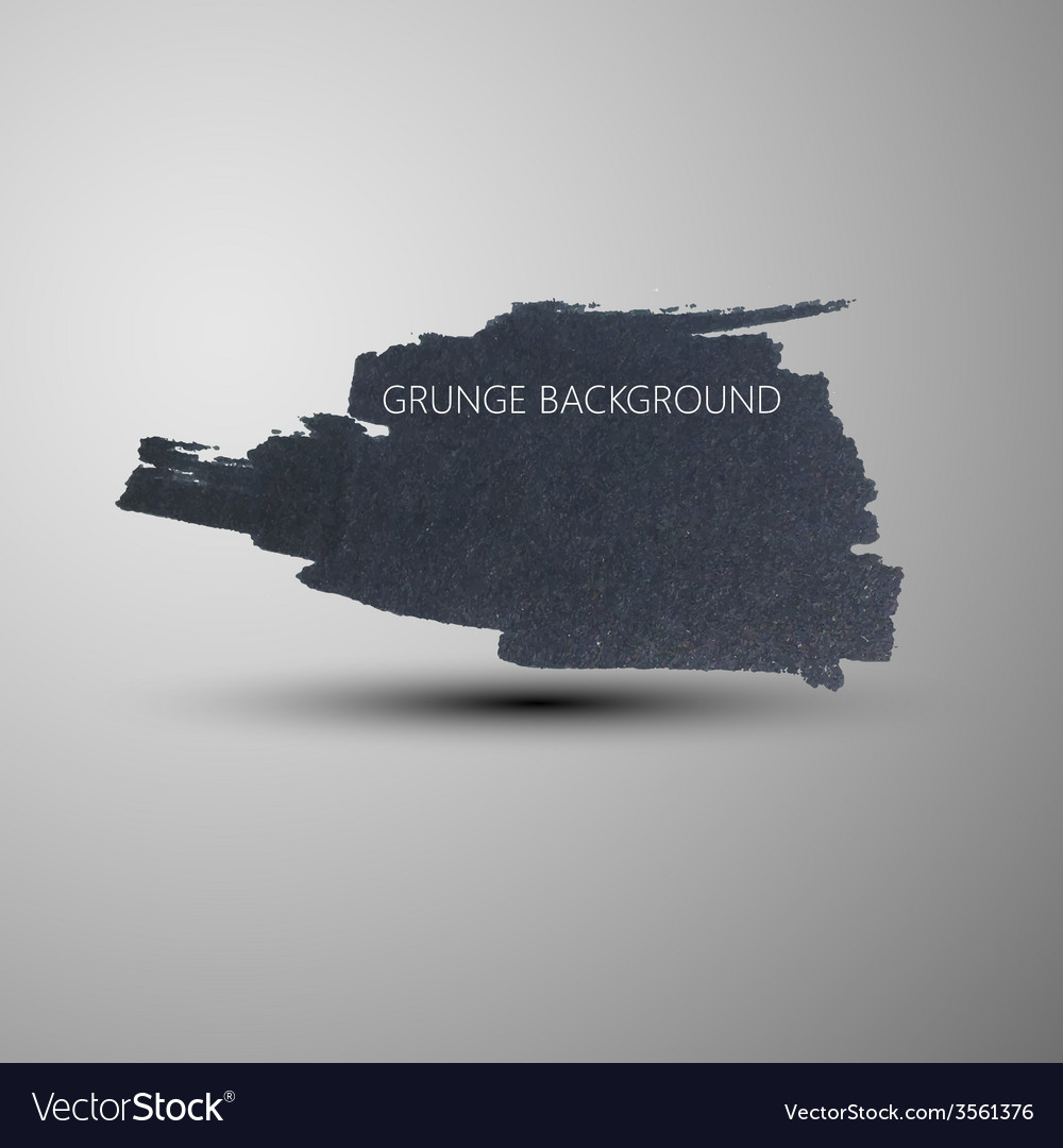 Grunge marker stain banner brushed ink texture vector   Price: 1 Credit (USD $1)