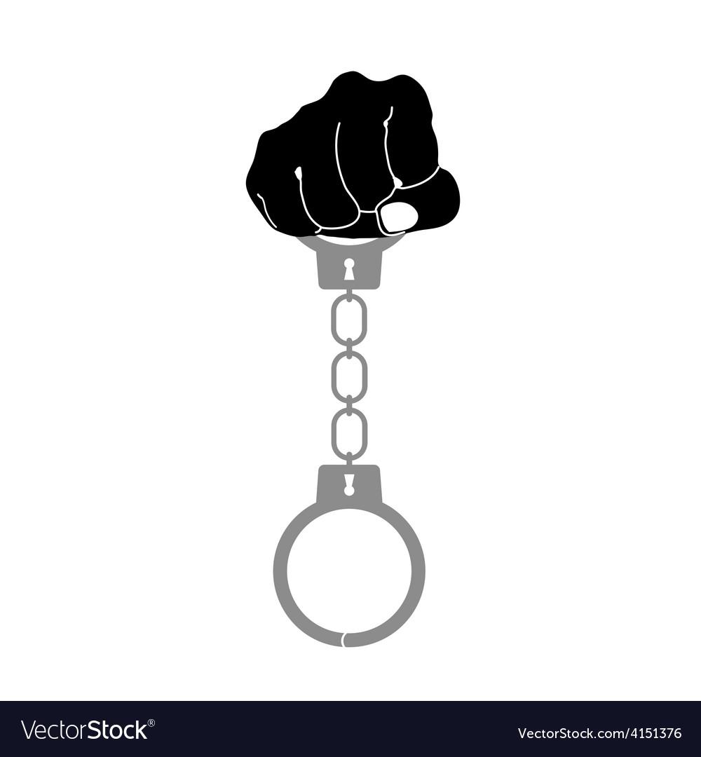 Handcuffs vector | Price: 1 Credit (USD $1)