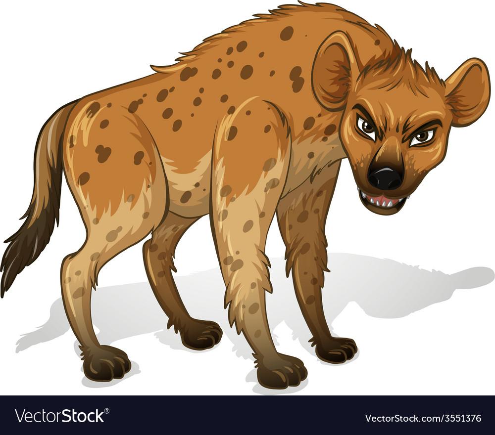 Hyena vector | Price: 3 Credit (USD $3)
