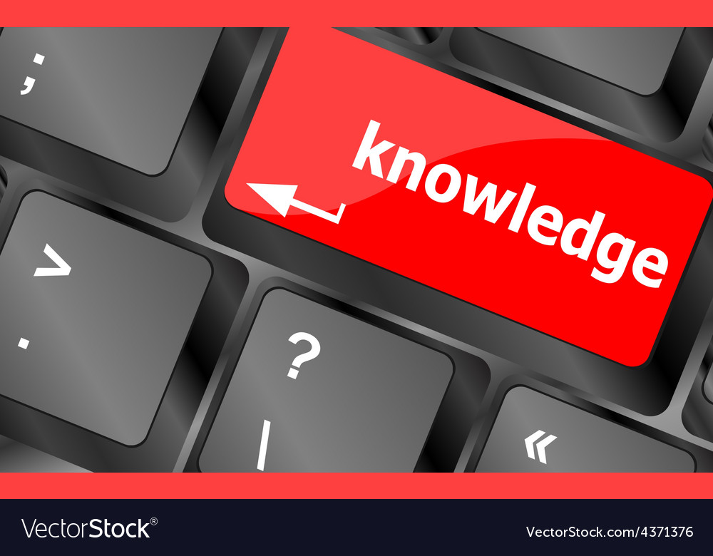 Keyboard with key knowledge computer input of vector | Price: 1 Credit (USD $1)