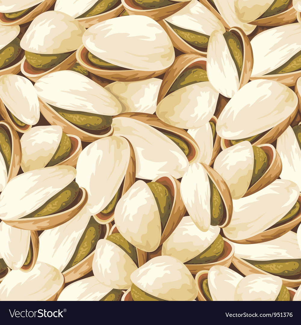 Pistachios background vector | Price: 1 Credit (USD $1)