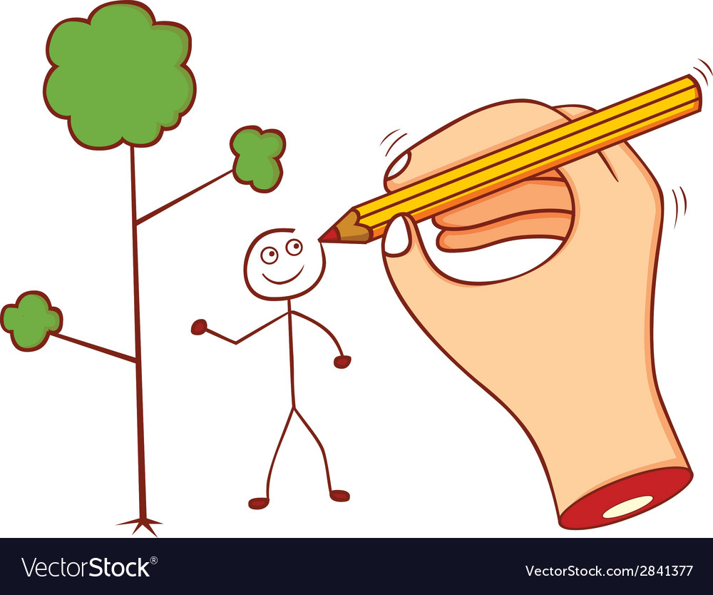 Drawing hand vector   Price: 1 Credit (USD $1)