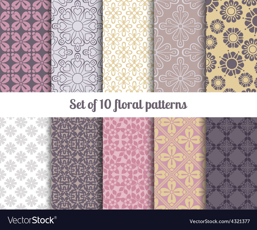 Pastel flowers backgrounds vector   Price: 1 Credit (USD $1)