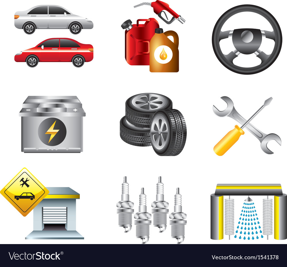 Icons petrol vector | Price: 3 Credit (USD $3)
