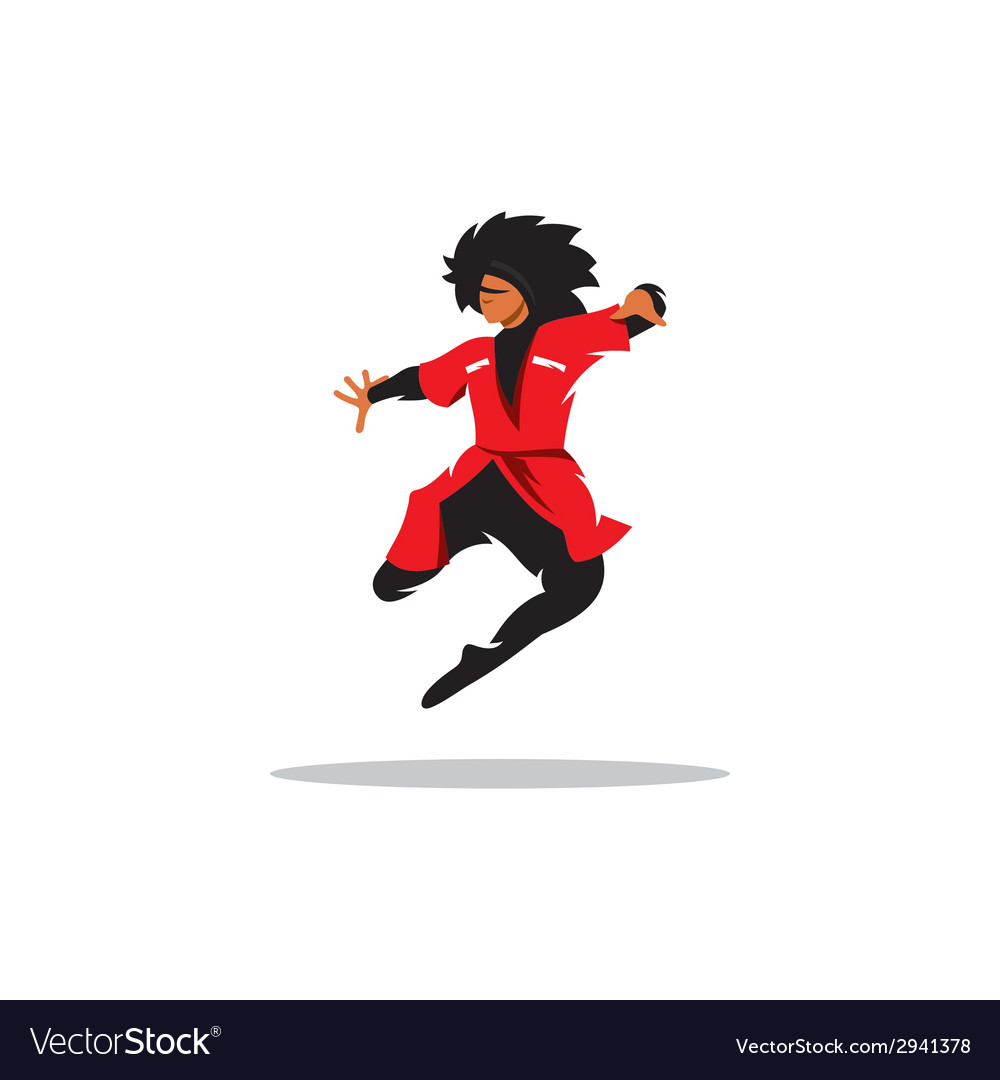 Lezginka dance sign vector | Price: 1 Credit (USD $1)