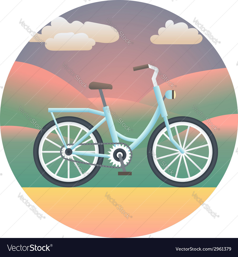 Bicycle detailed vector | Price: 1 Credit (USD $1)