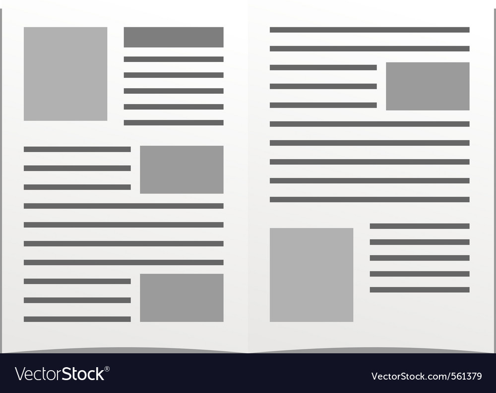 Daily newspaper vector | Price: 1 Credit (USD $1)