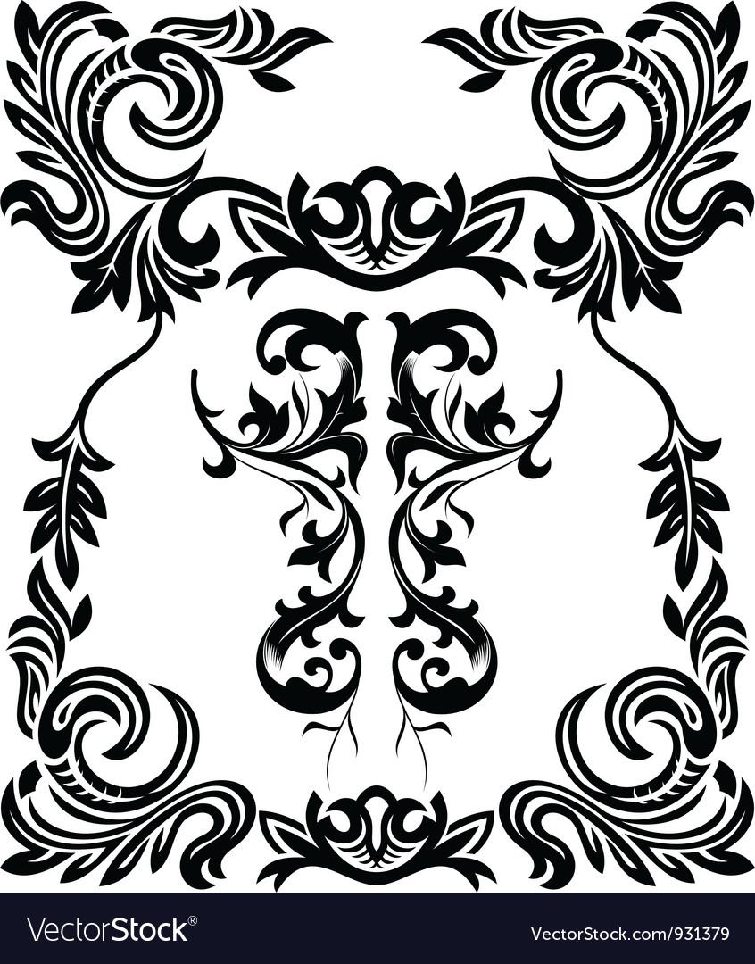 Vintage ornamental framets vector | Price: 1 Credit (USD $1)