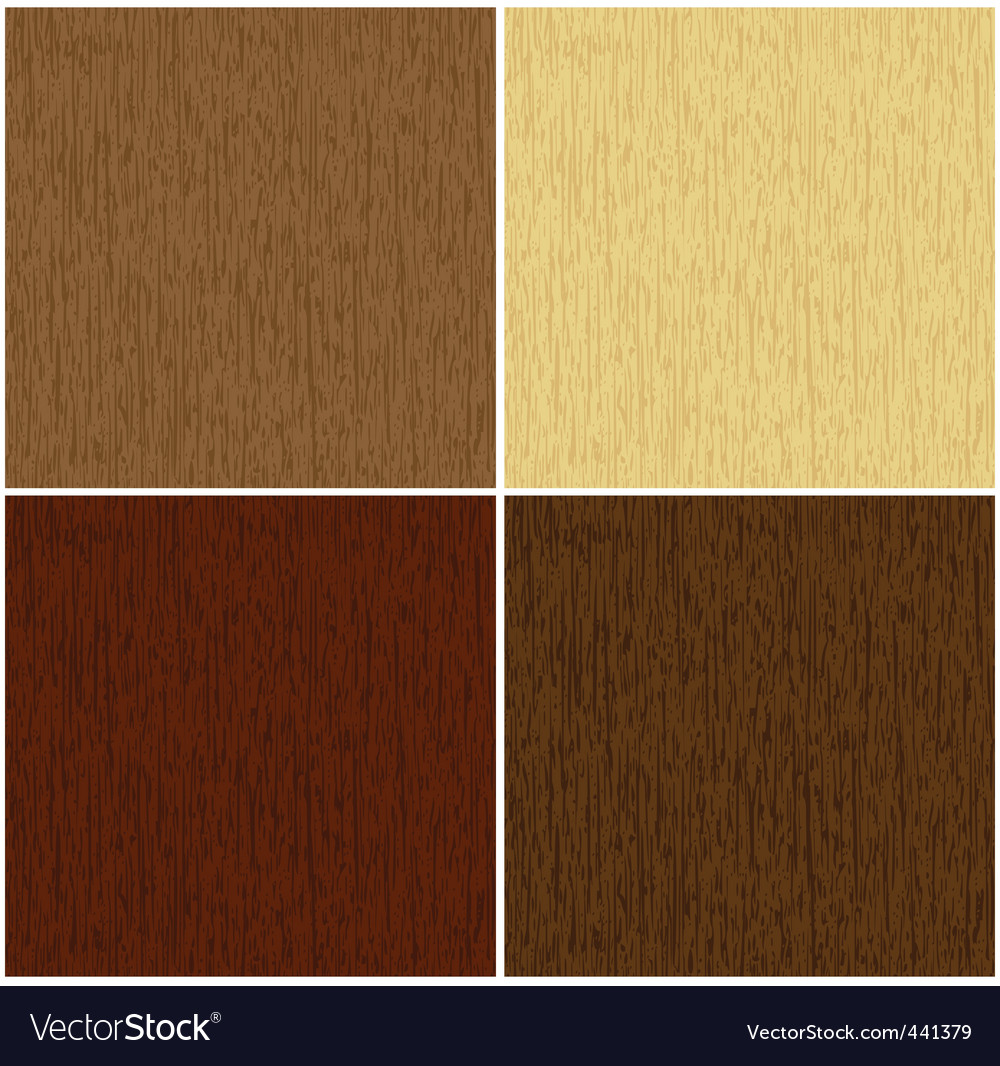Wooden texture in 4 colors vector | Price: 1 Credit (USD $1)