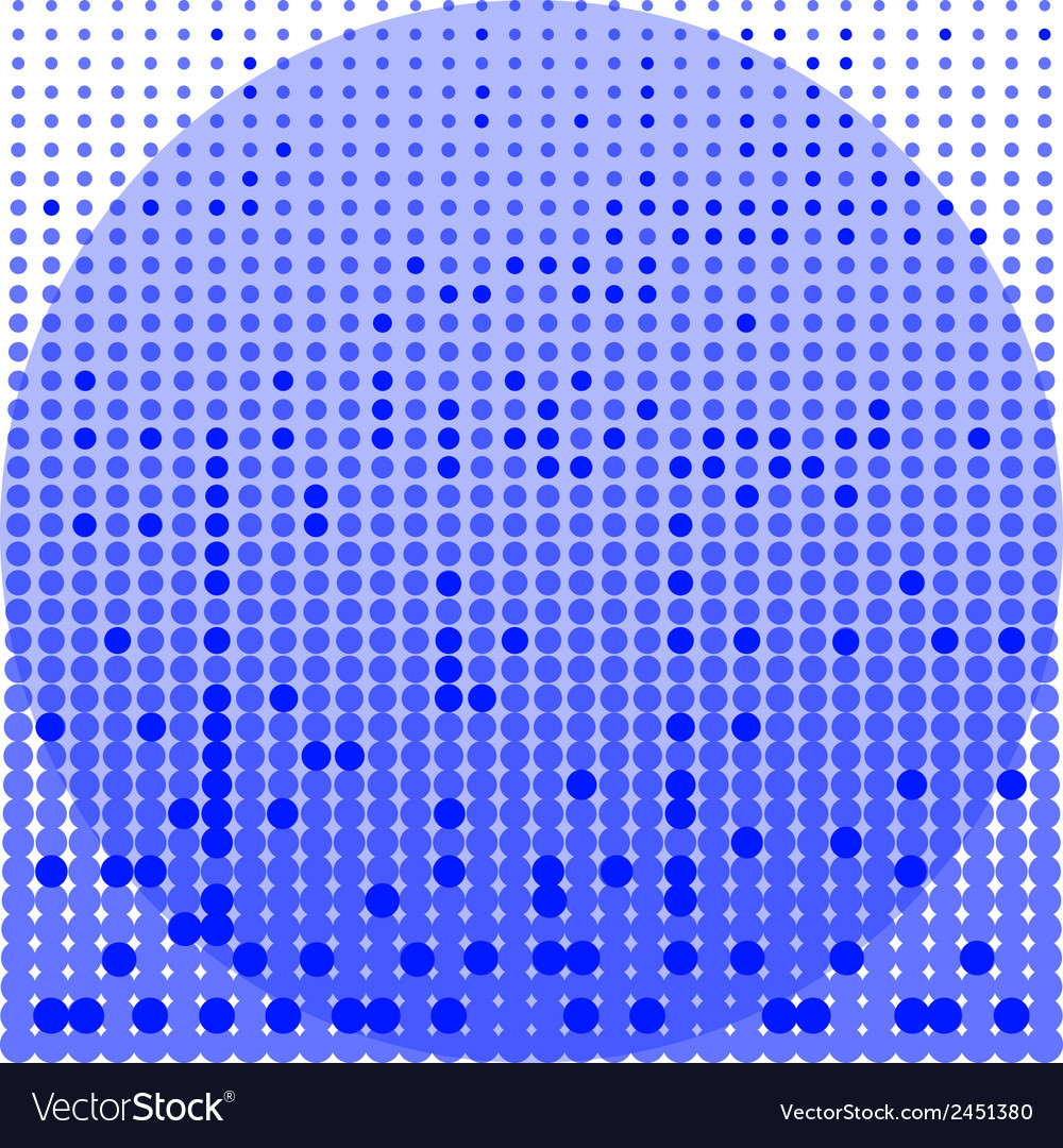 Circles blue and white background vector | Price: 1 Credit (USD $1)