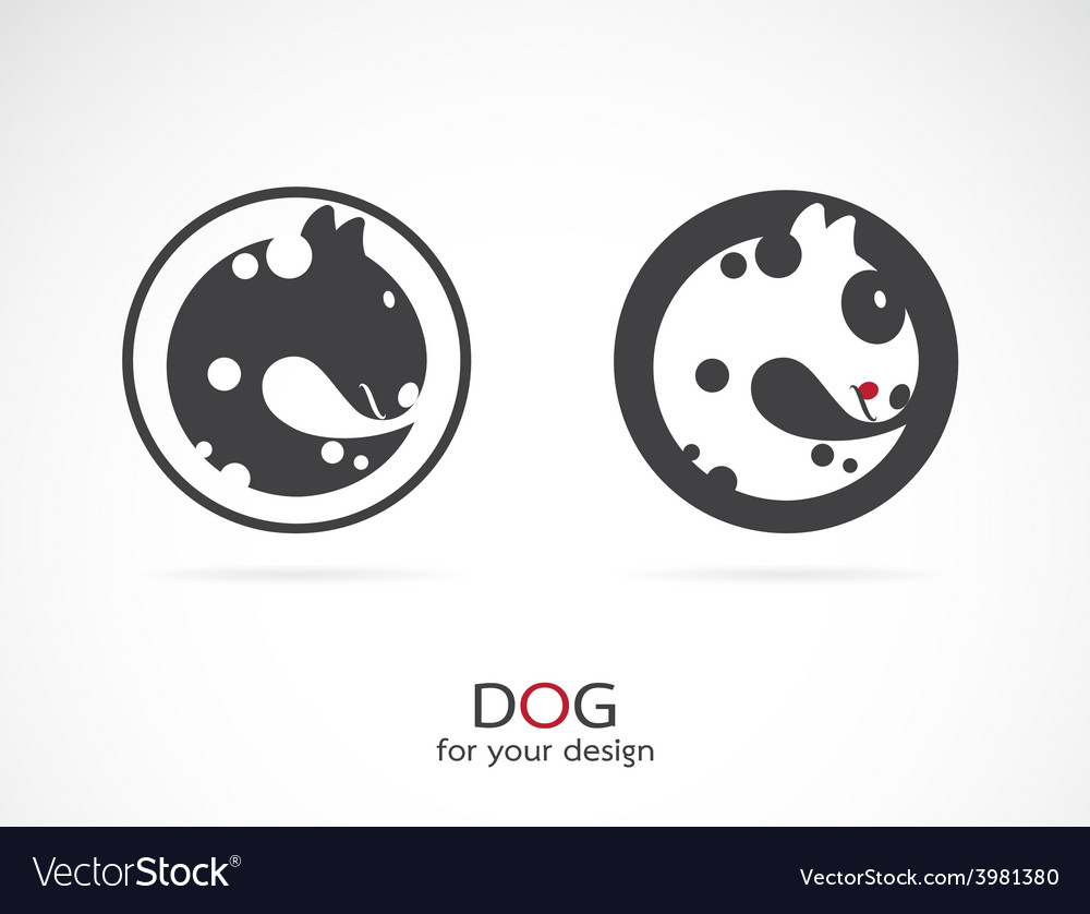 Image of an dog design vector | Price: 1 Credit (USD $1)