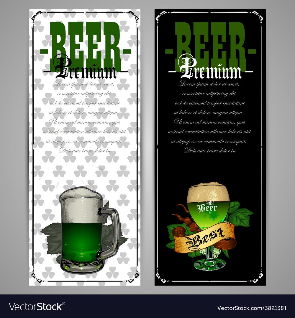 Beer labels vector | Price: 3 Credit (USD $3)