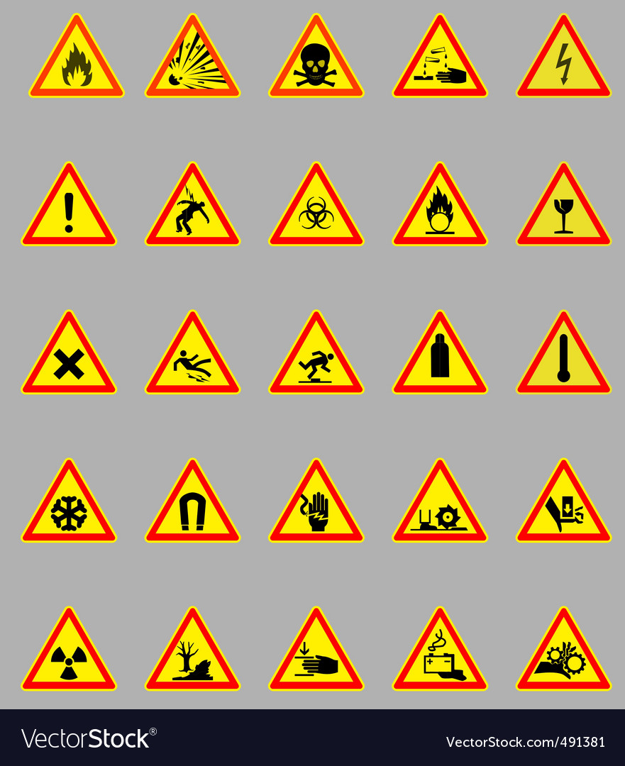 Hazard lights vector | Price: 1 Credit (USD $1)