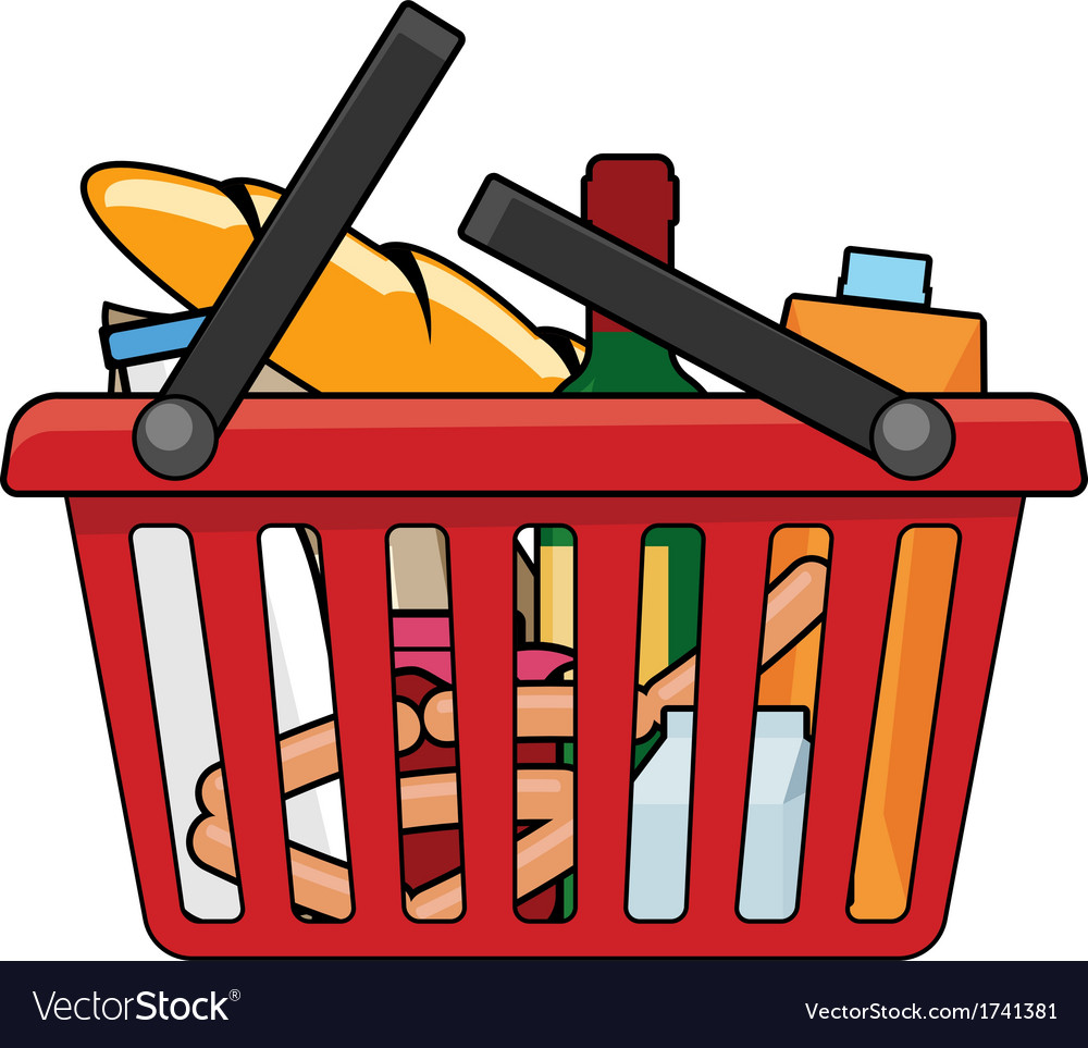 Shopping basket vector   Price: 1 Credit (USD $1)
