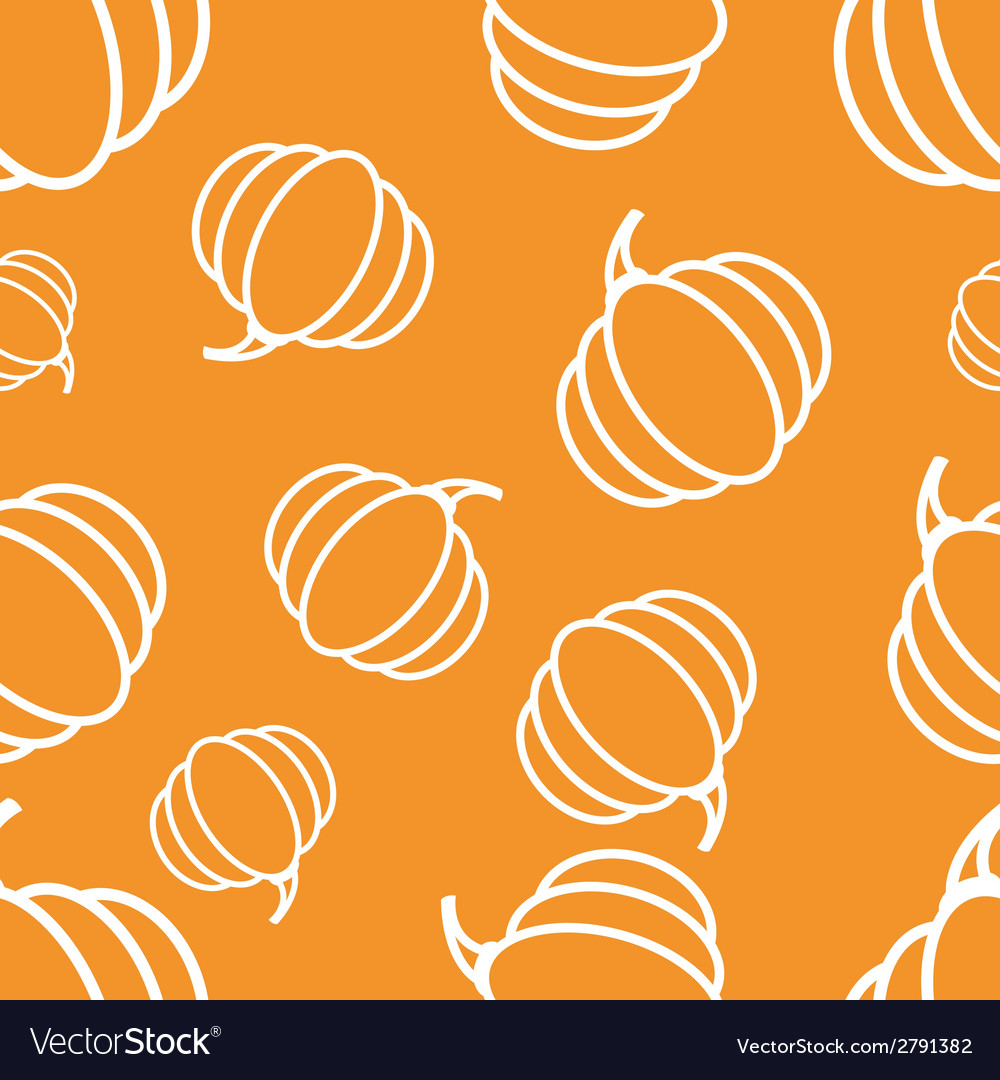 Pattern circuit pumpkin vector | Price: 1 Credit (USD $1)