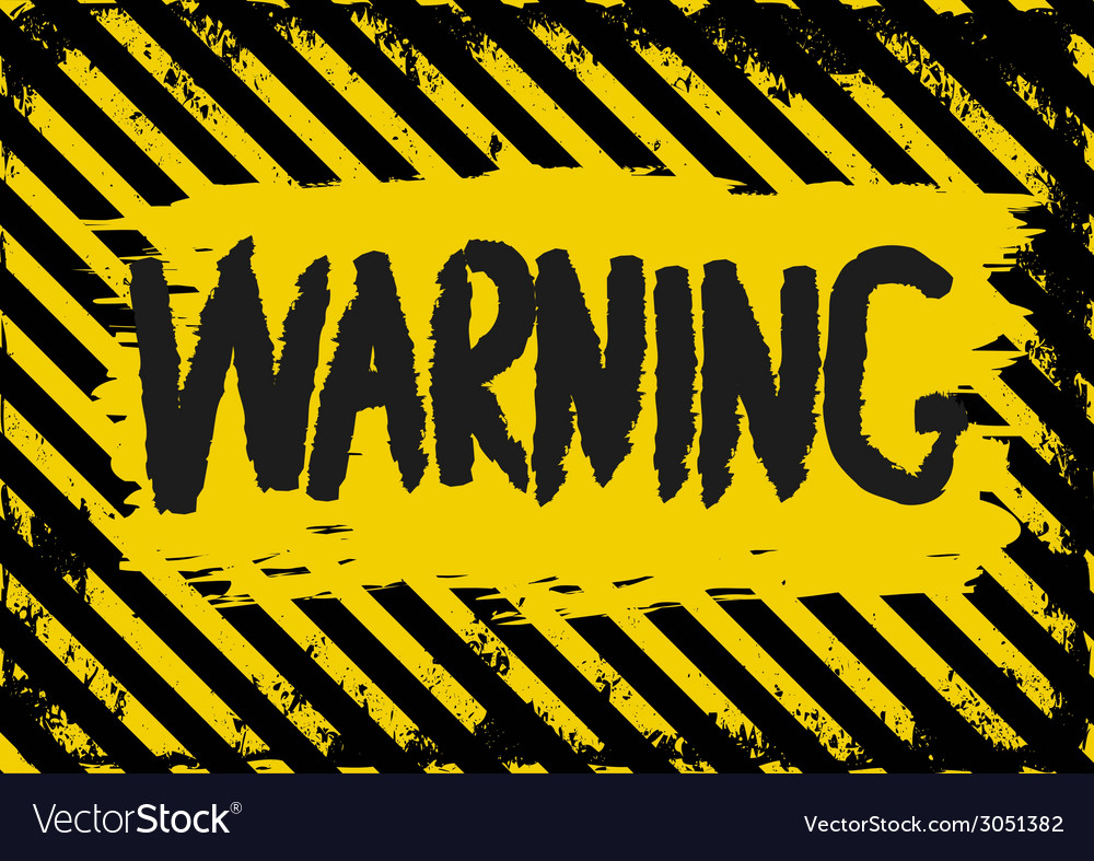 Warning vector | Price: 1 Credit (USD $1)