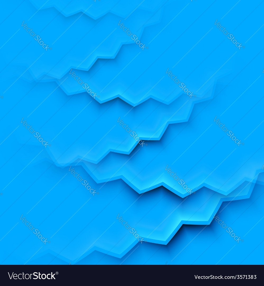 Abstract background with blue layers vector | Price: 1 Credit (USD $1)