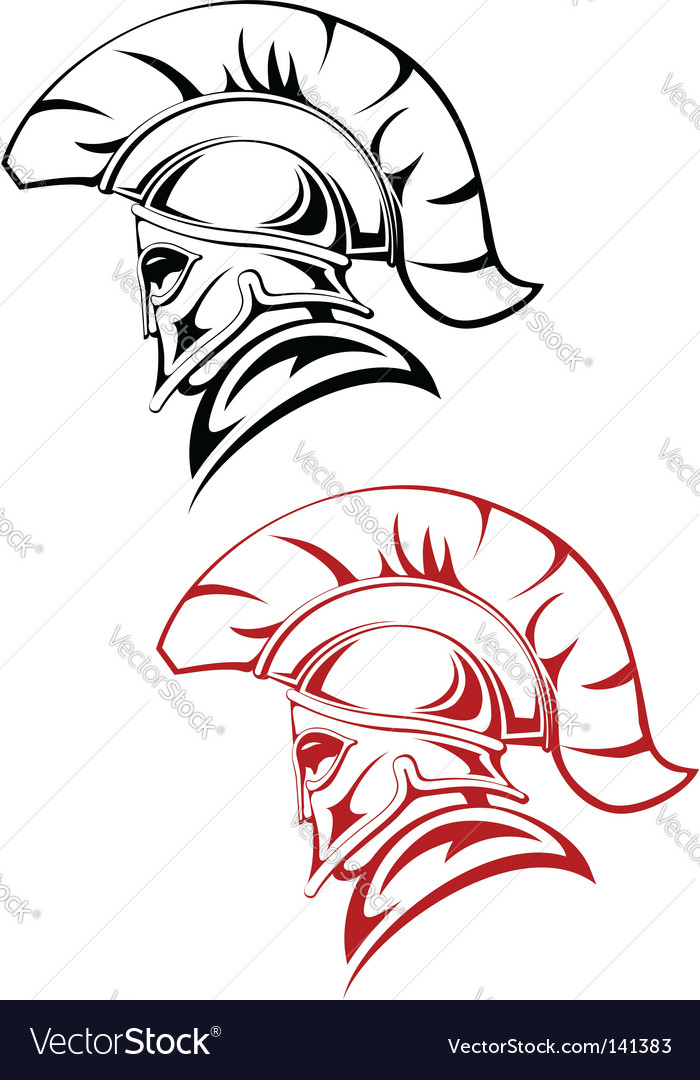 Ancient warrior vector | Price: 1 Credit (USD $1)