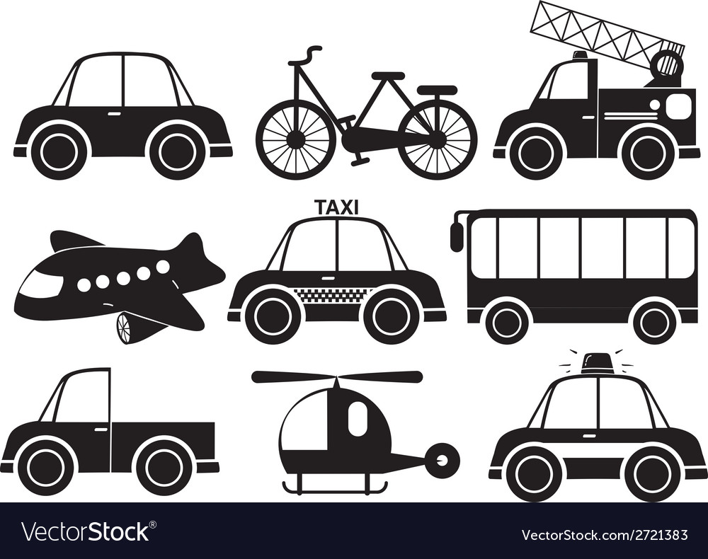Different type of vehicles vector | Price: 1 Credit (USD $1)