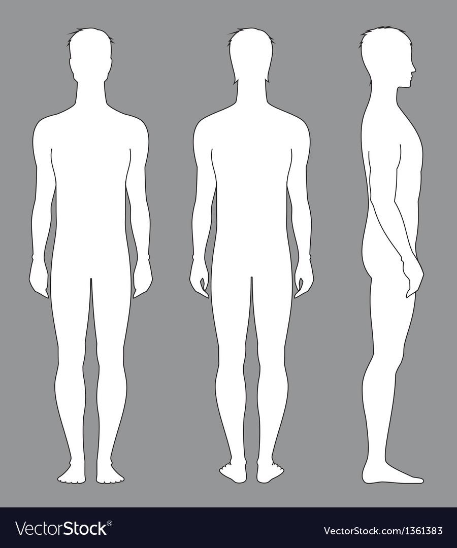 Man figure vector | Price: 1 Credit (USD $1)