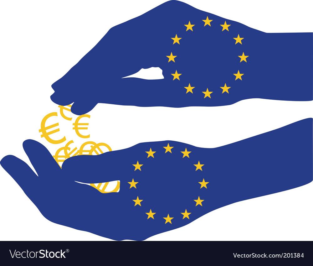 Europe subsidies vector | Price: 1 Credit (USD $1)