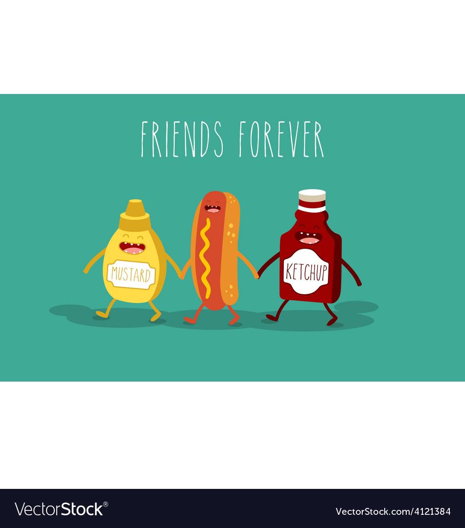 Hot dog vector | Price: 1 Credit (USD $1)