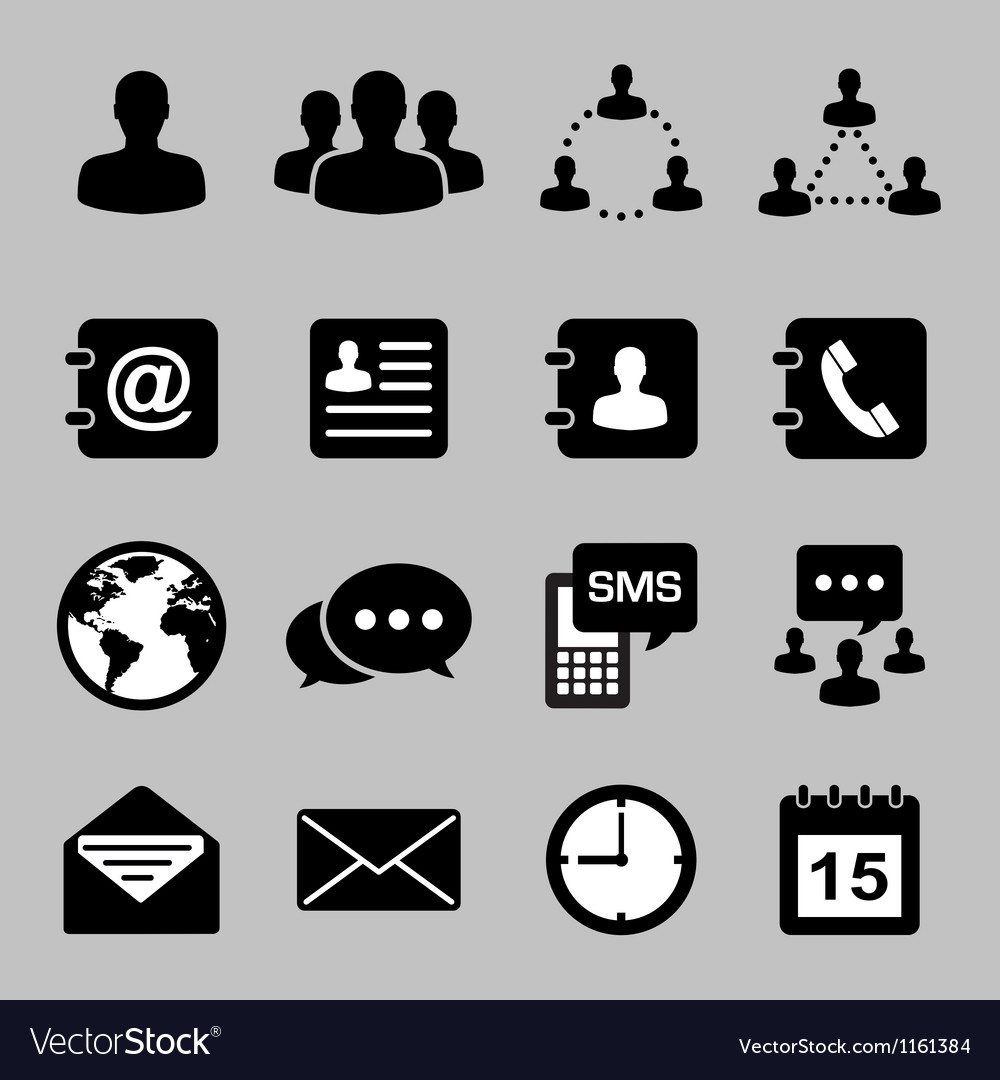 Icon set of business eps 10 vector | Price: 1 Credit (USD $1)