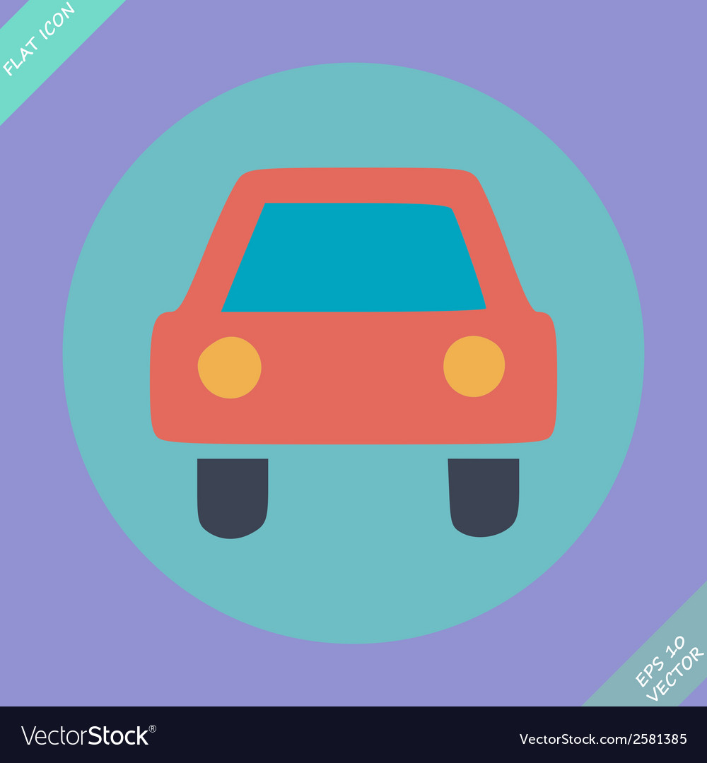 Car sign - vector | Price: 1 Credit (USD $1)