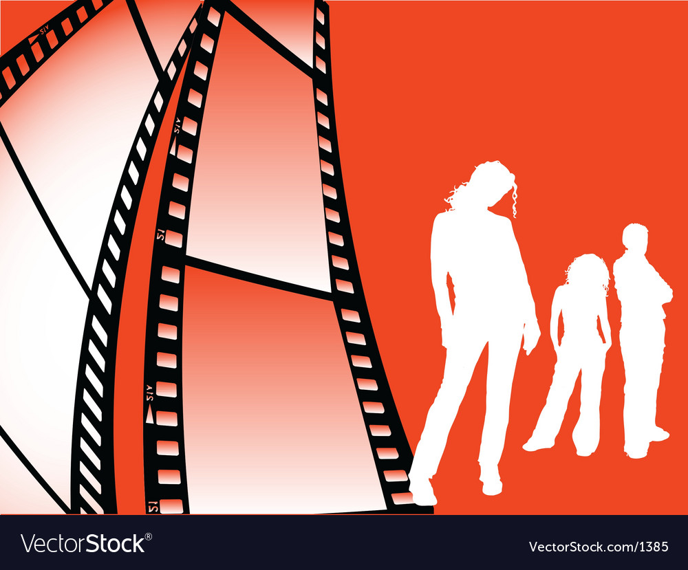 Film strip youth vector | Price: 1 Credit (USD $1)